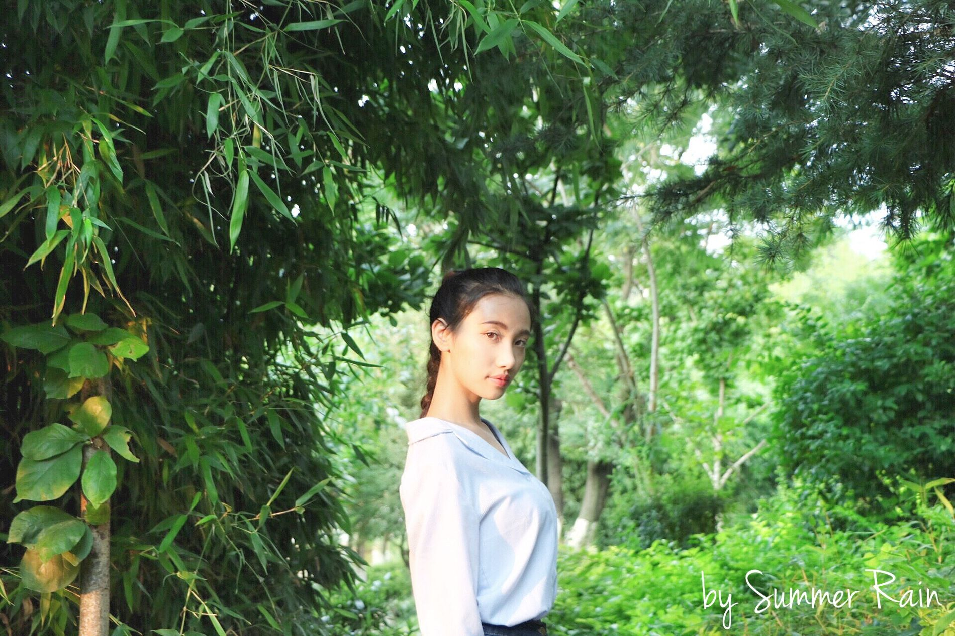 Summer.with sister in the green day. Gree Summe Hello World Siste Cheese! Relaxing Taking Photos Enjoying Life Hi! Watching Tree Yunnan ,China Yunnan