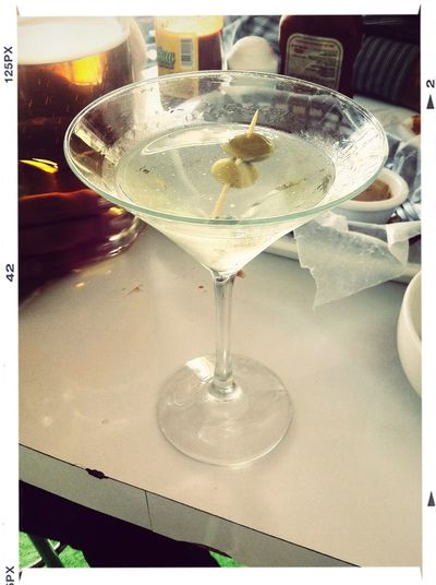 Disfrutando la tarde... Cocktails