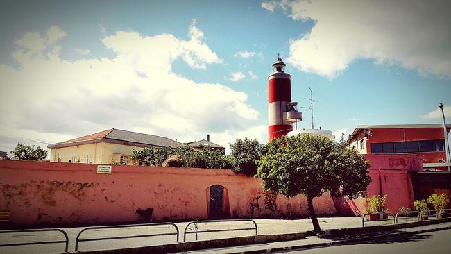 Faro Paesaggi Villasangiovanni Mare Lungomare See Sun