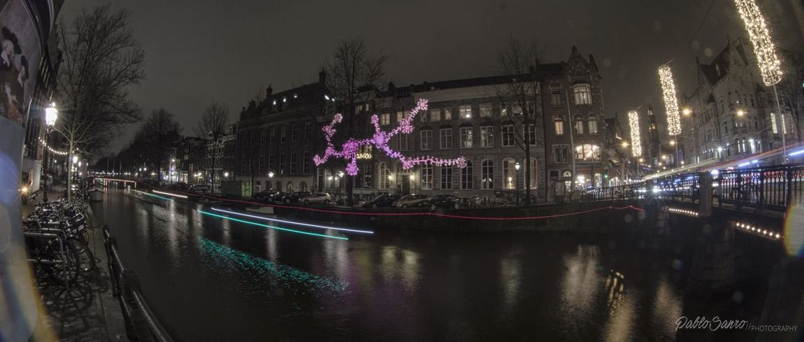 View Herengracht Eye4photography  EyeEm Gallery EyeEm Best Shots EyeEm Best Shots City Outdoors Connection Water Building Exterior Tree River Built Structure Architecture Night Illuminated Landscape Eyefish Amsterdam Canal Winter Amsterdamse Grachten
