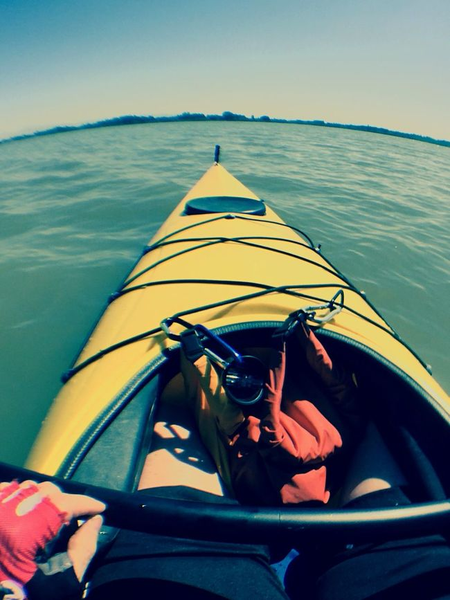 Kayaking Olloclip Horizon IPhone Kayak