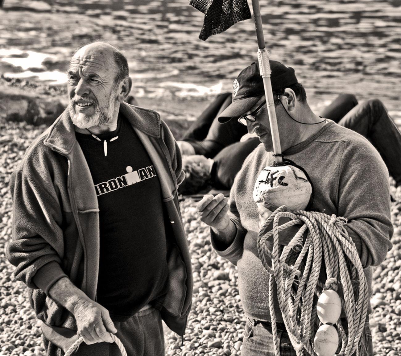 Ironman & Co, fishermen Scène De Vie Portrait EyeEm Best Shots - People + Portrait Bnw