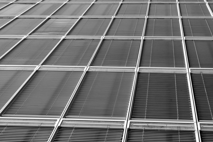 Blinds of a so called Krankhaus in the Rheinauhafen Cologne. Architecture Architecture_bw Backgrounds Black & White Black And White Blackandwhite Blinds Bw Cologne Design Geometry Kranhäuser Köln Metal Modern Pattern Pattern Pieces Rheinauhafen Shutter Window