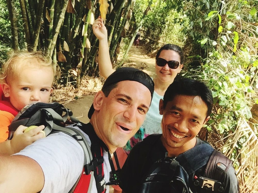 THESE Are My Friends happy as hell, thats how we do it....jungle trekking;) Selfie ✌ Selfies Groupselfie Groupshot Jungle Traveling Travel Adventure Trekking TrekkingDay Exploring IPhoneography IPhone Iphone6 Smile ✌ Happy Happy People Bali Bali, Indonesia Balinese Positive Positivity Adventure Buddies Feel The Journey