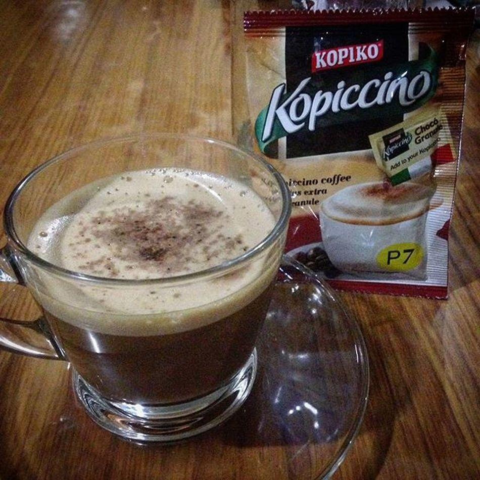 02/05/2016 Coffeebreak Breaktime Kopiko Kopiccino Kopiccinocoffee
