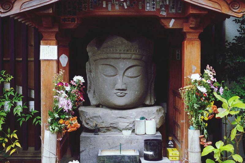 臼杵の石仏 Japan Ooita A Statue Of Buddha Ultimate Japan Face Silence