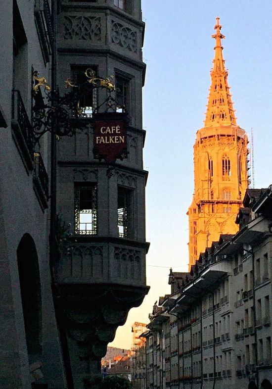 Golden Hour Light And Shadow Berner Münster Münstergasse Bern, Switzerland Summerevening Urban Architecture IPS2015City Urbanphotography Urban