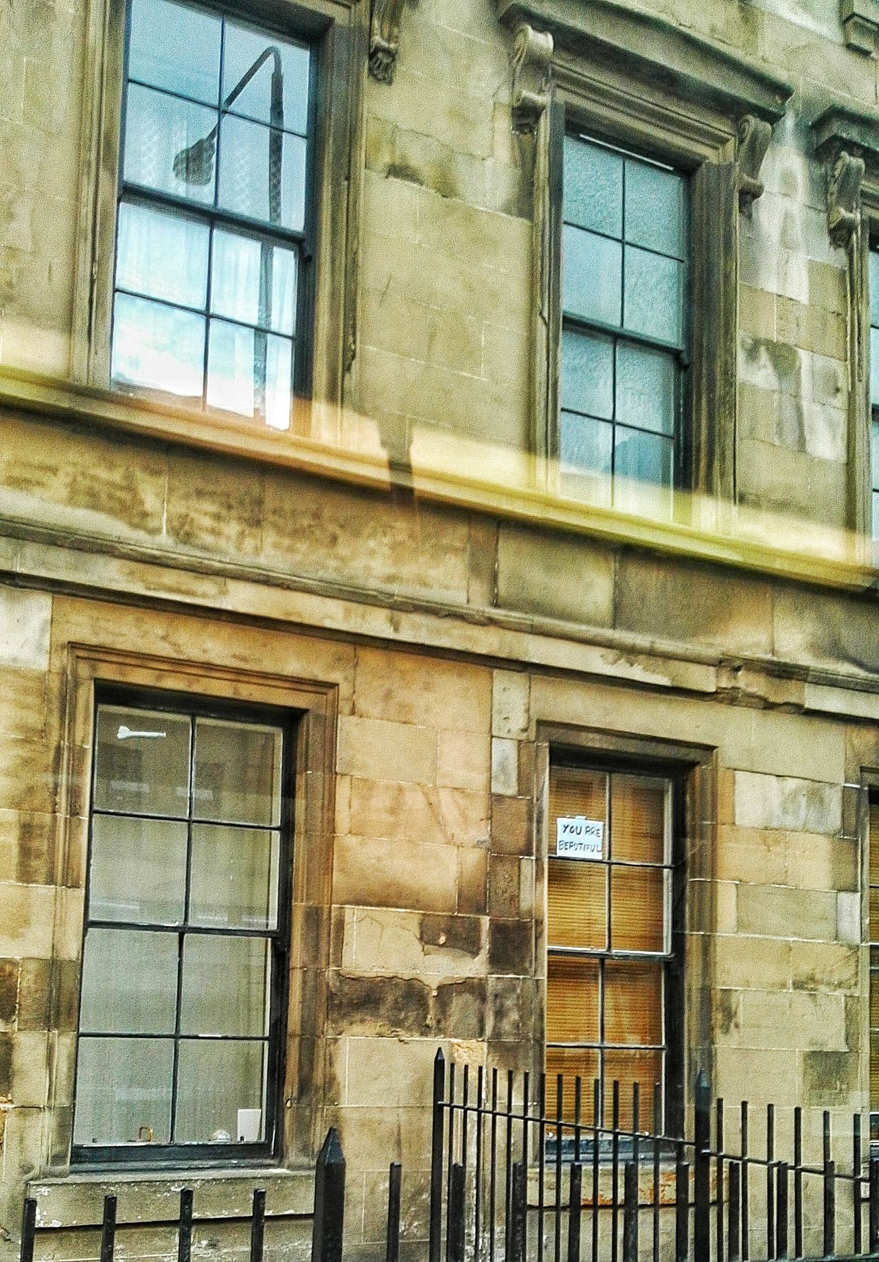 Window Architecture Building Exterior Built Structure Day Window Frame Historic History Weathered No People Exterior IAmBeautiful Youarebeautiful Randomsign Randomactsofkindness Viewfromthewindow Onabus Tenements Bloodylampposts
