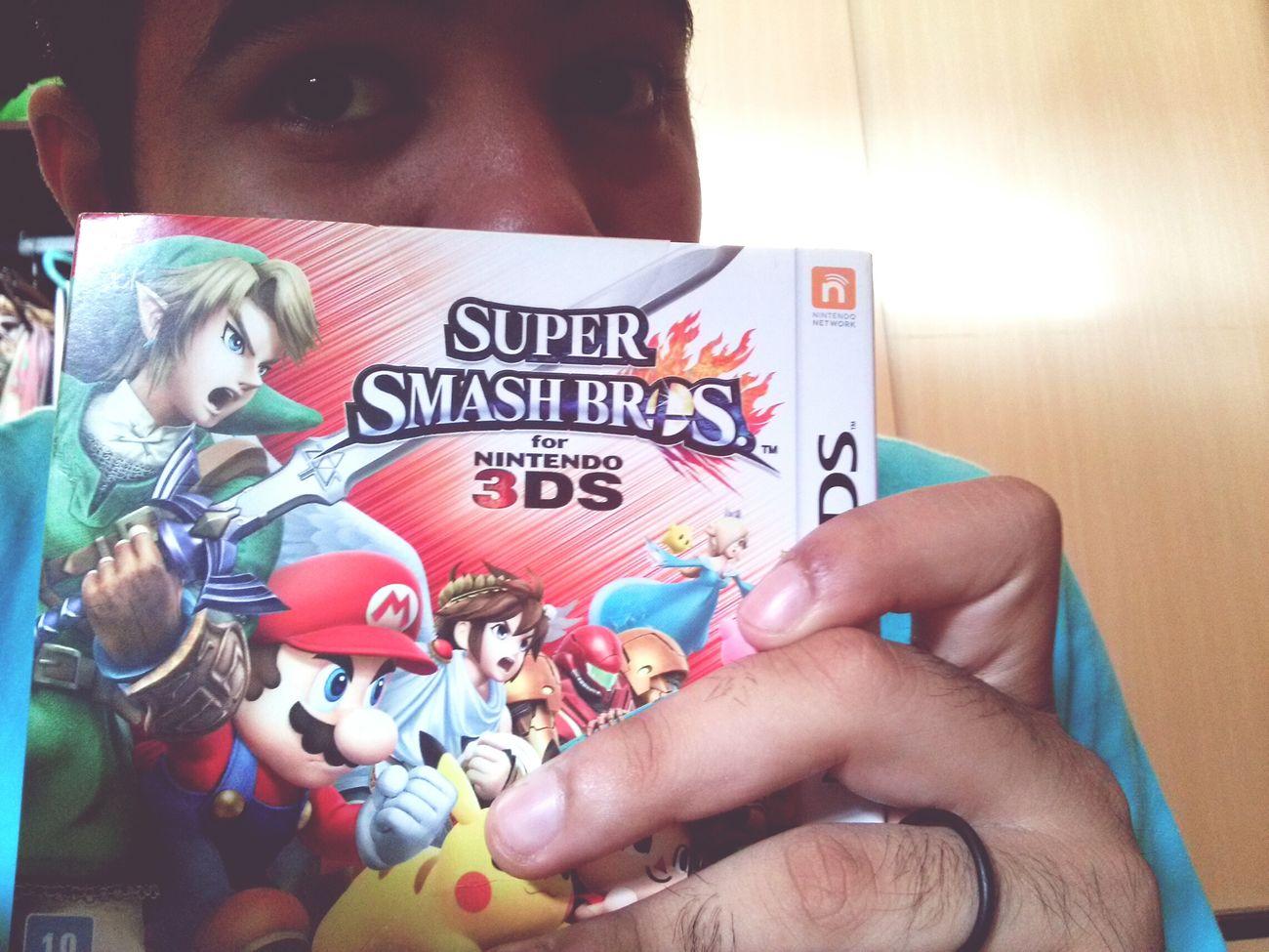 Ssb SuperSmashBros Nintendo Nintendo3ds sobre a g.f e natal