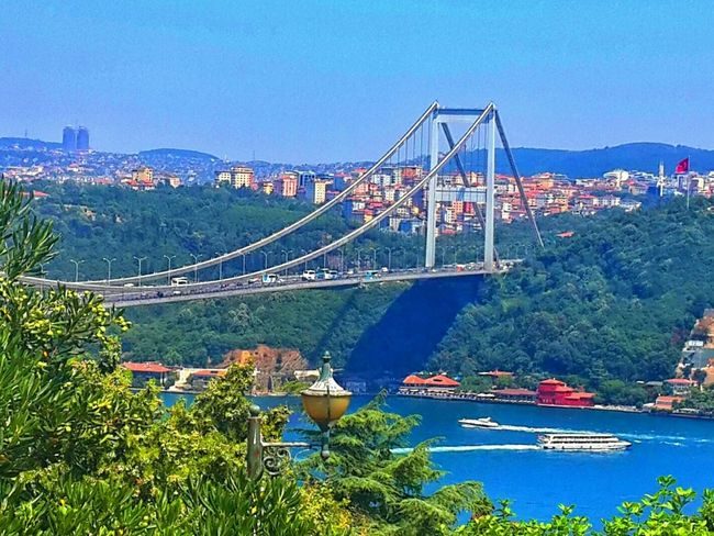 Hi! View Landscape Relaxing Turkey Istanbul City