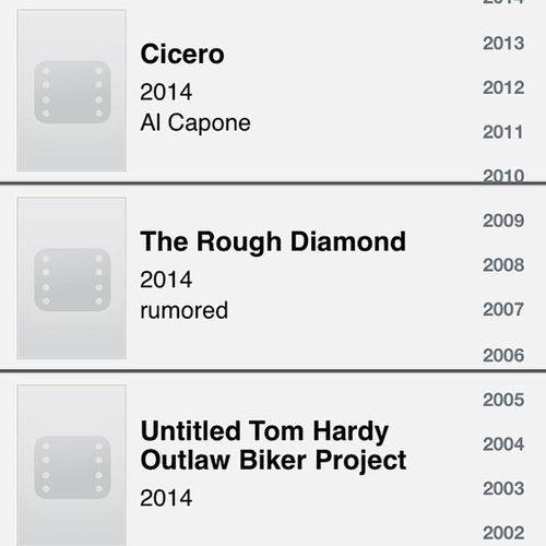 Movies to look forward to ?TomHardy Eth Edwardthomashardy Movies 2014 yay