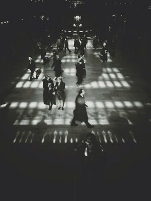 blackandwhite at Grand Central Terminal by Giancarlo Mino'