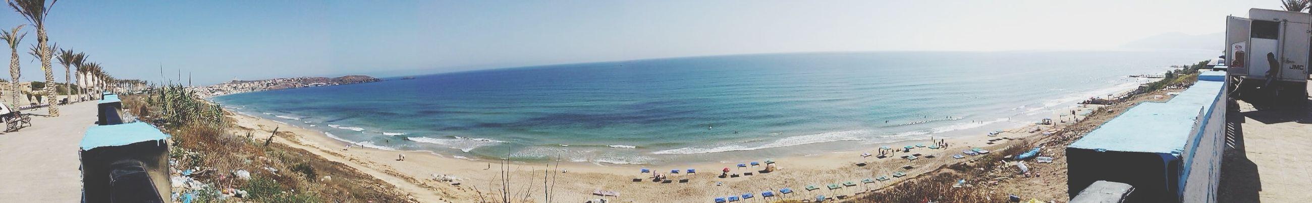 Panoramic Photography Panoramic Panoramic View Oran  Algeria Oran Algeria Sea_collection Sea Sea And Sky Sea View
