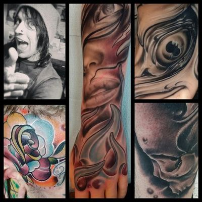 Some recent stuff from this year. Enjoy! @kingpintattoosupply @atvinks