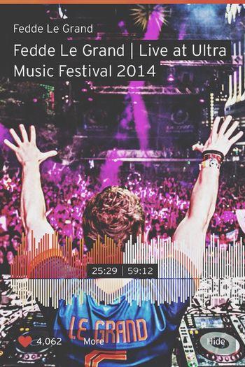 Fedde Le Grand Ultra Music Festival 2014 ! Make Some Mother Fucking Noise ! Loveit Youarethebest  Feddelegrand Nocomment