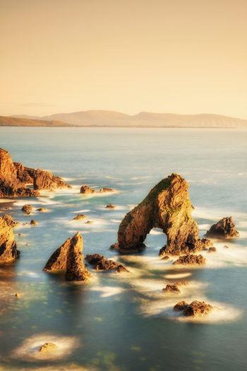 Atlantic Ocean Blue Sea Crohy Arch Headland Rock Rock Formation Sea Sea And Sky Sea View Seascape Sun Sunlight Sunset