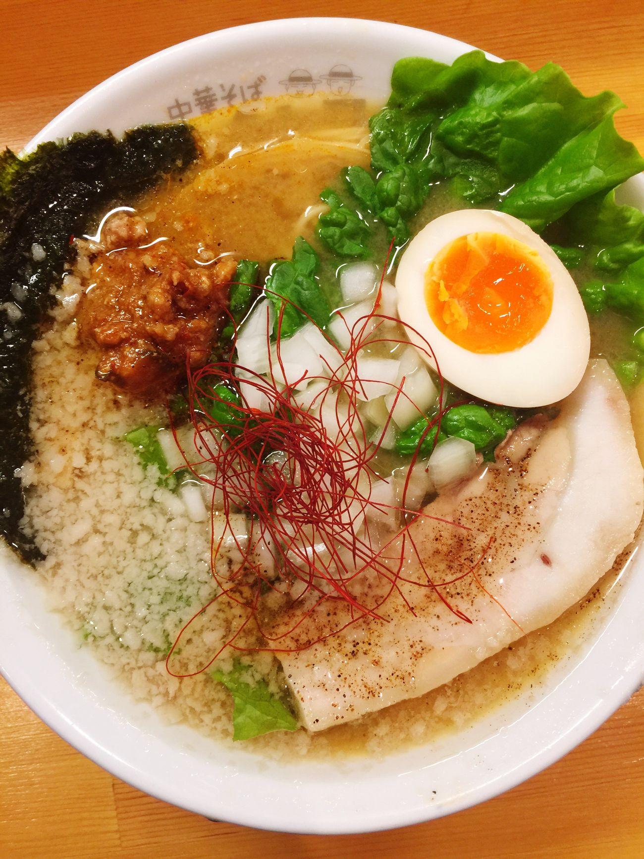 連日ラーメンの日々♥嗚呼幸せ(笑)大大大好きなムタヒロにて 福島区 Ramen ラーメン Enjoying A Meal 大阪市 ラ女子 ラヲタ