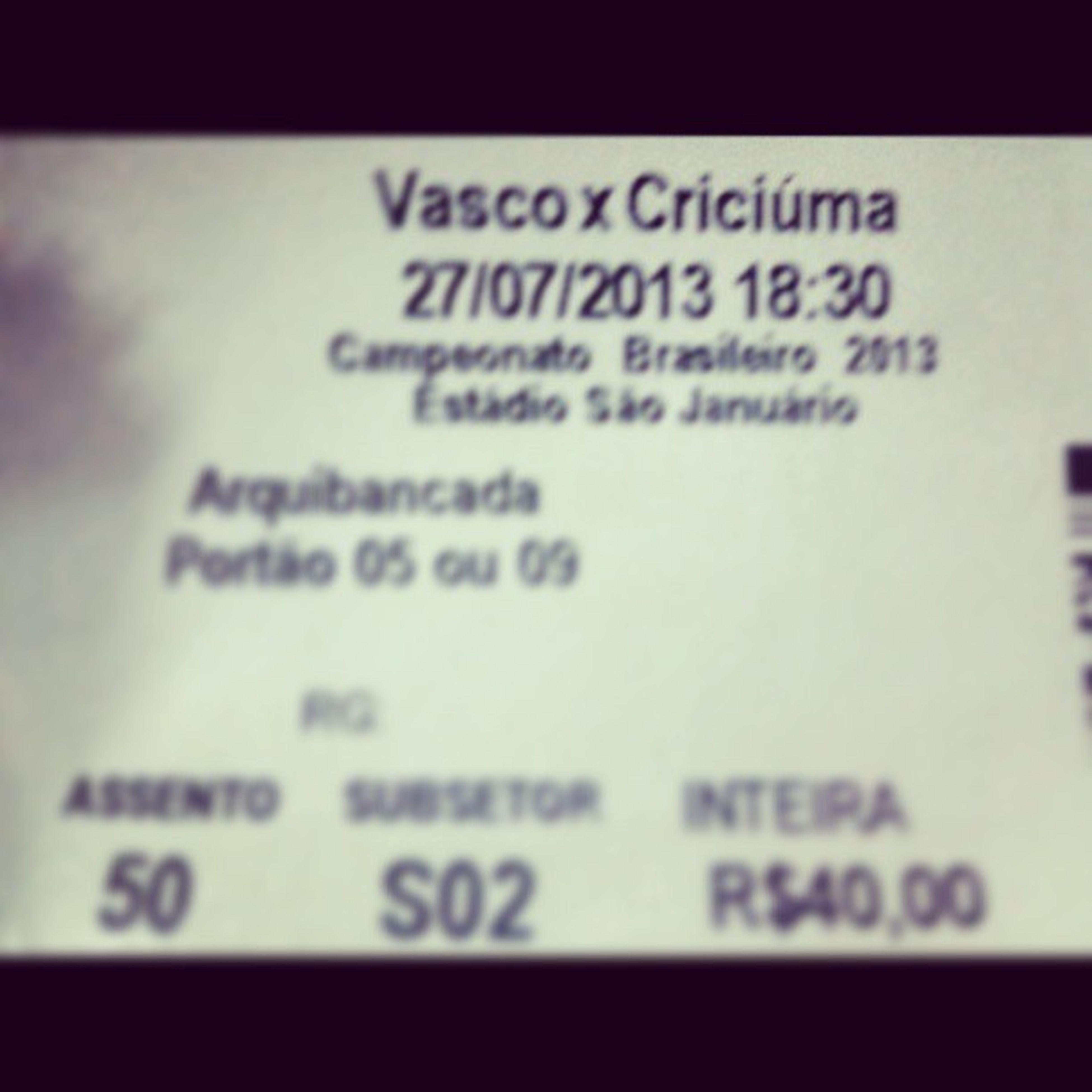 Quem vamos? OSentimentoNuncaParou Vasco