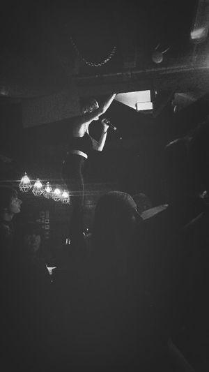 Julytalk at Fallows Cafe, Manchester.
