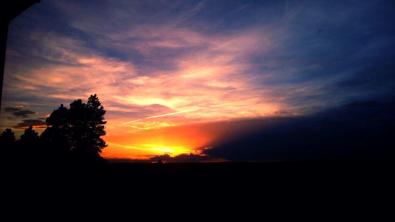 sunset, silhouette, sun, dark, nature, sky, landscape, adventure, beauty in nature, no people