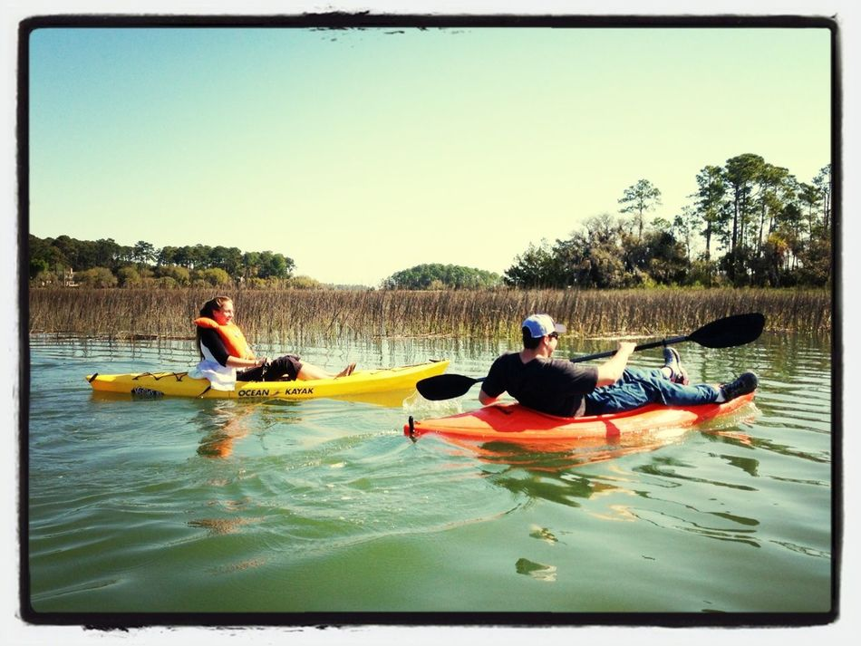 Up the Creek with a paddle in SC