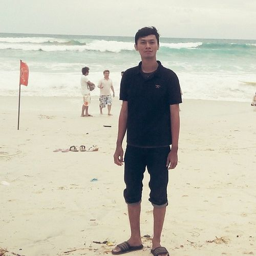 Dreamland Beach Bali, Indonesia Selfportrait That's Me