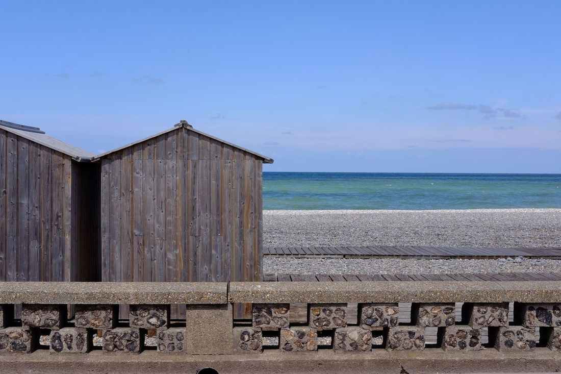 Le front de mer de Dieppe Beach Built Structure Day Dieppe Normandie No People Outdoors Sea Sea Front Sky Water Live For The Story