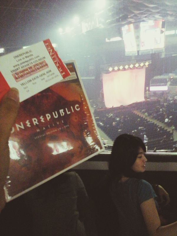 Memories That I Loved Than My Life One rwpublic's first concert here in the Philippines ♥ last november 6 ♥ Best Day Of My Life One Republic One Republic Fan