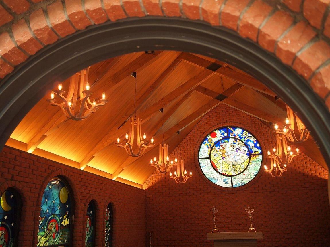 Chapel Stained Glass Seiji Fujishiro