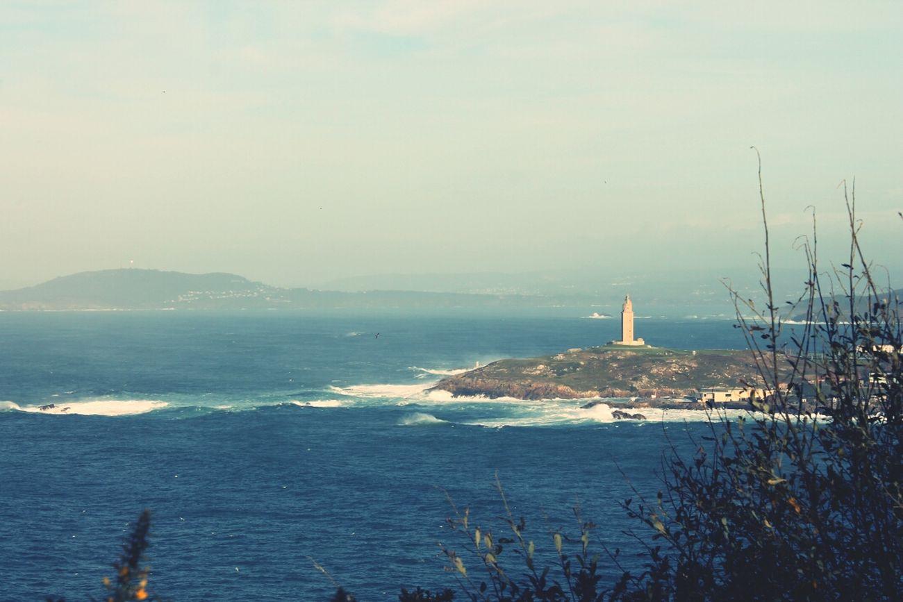 A Coruña Mirador Monte San Pedro Torre De Hércules