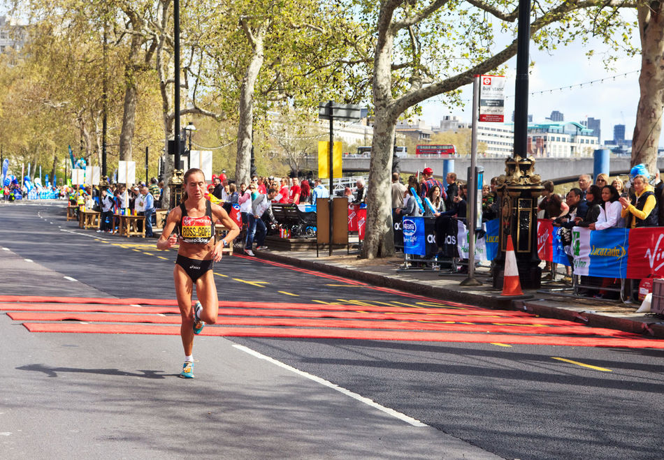 London's Marathon runner, London,UK Adult Adults Only City City Life Crowd Day London London Marathon Marathon Marathon Marathon Runner Only Women Outdoors People Road Running Rural Scene Sport Sports Photography Sports Race Sportsman Street Tree Uk Women