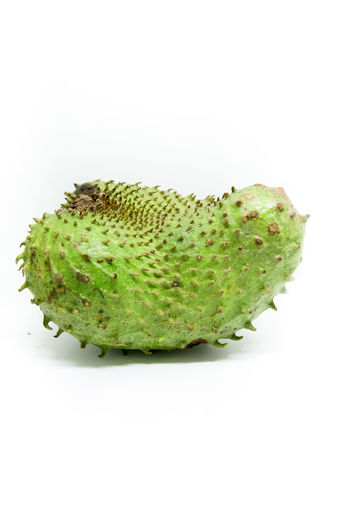 Soursop Close-up Day Food Food And Drink Freshness Fruit Green Color Healthy Eating No People Soursop Soursop Flower Soursop Fruit Studio Shot White Background