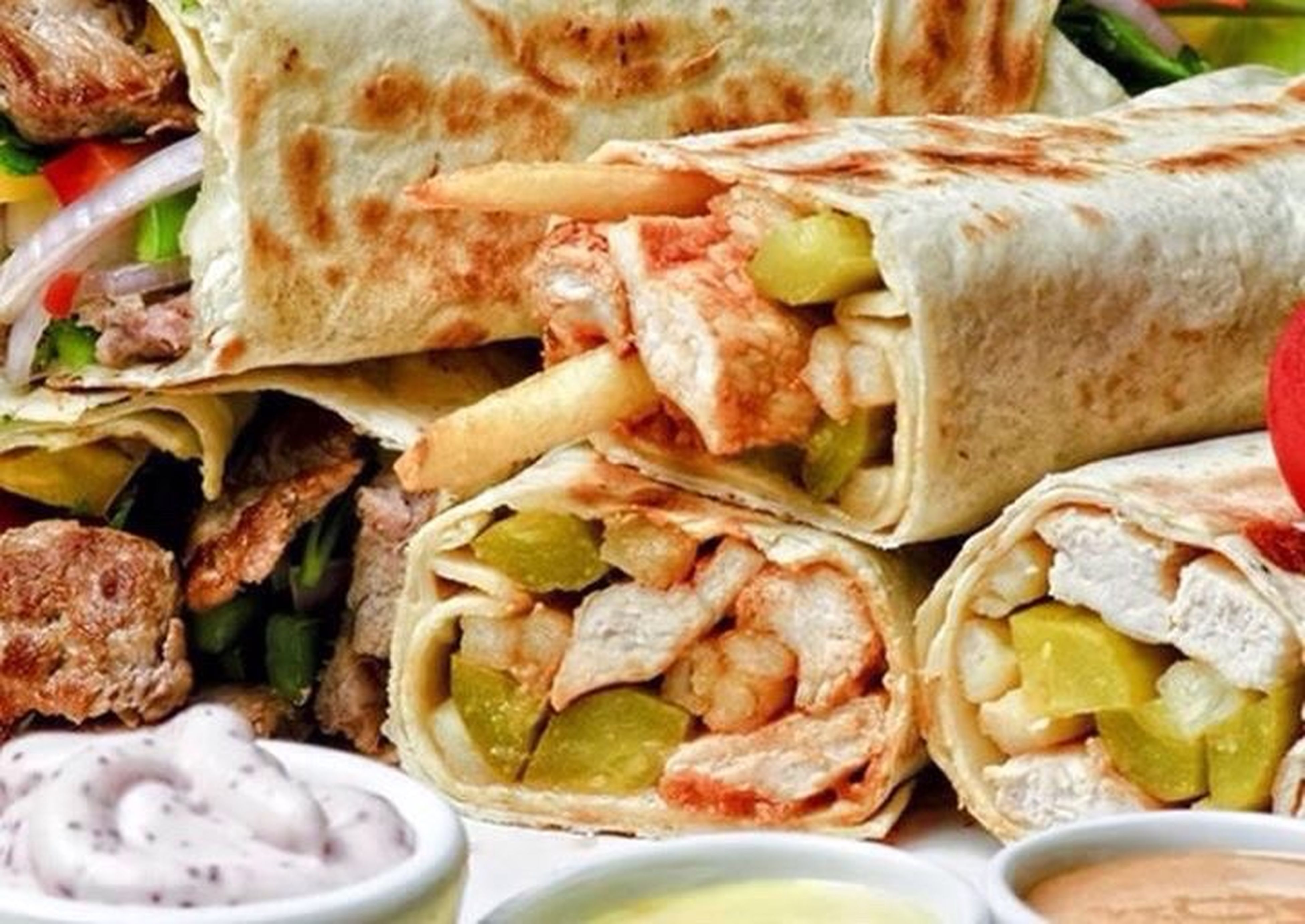food and drink, food, mexican food, tortilla - flatbread, no people, wrap sandwich, ready-to-eat, sandwich, healthy eating, close-up, pita bread, freshness