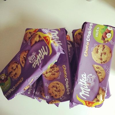 Mmmh Milka Cookies Withnuts ?
