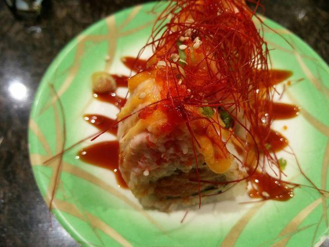 Eating Sushi Foodie