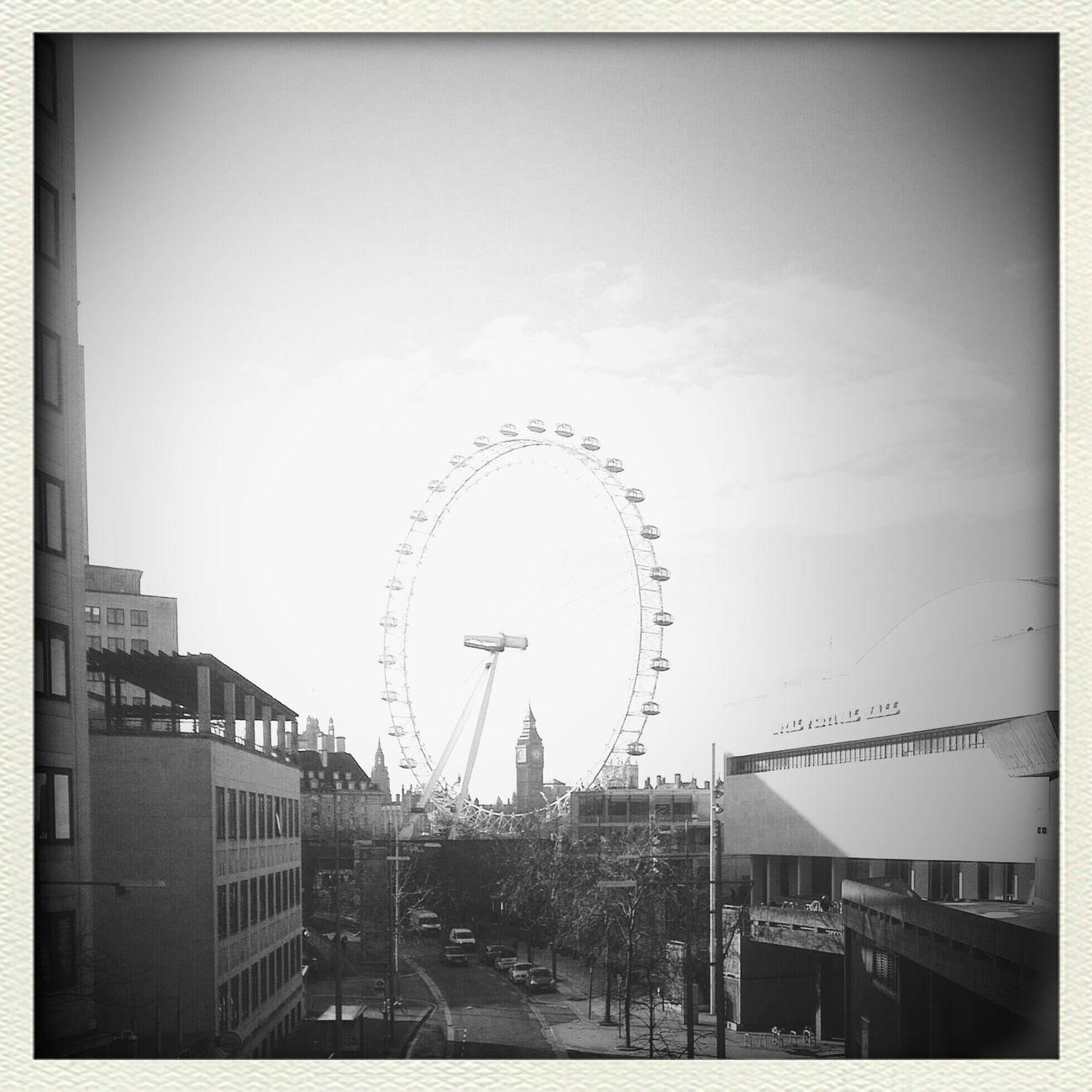 At Westminster Bridge London City Blackandwhite