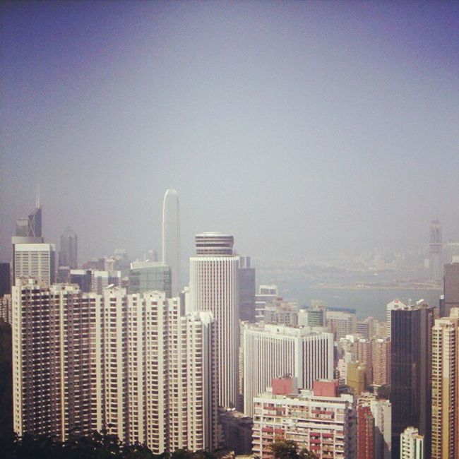 From Victoria Peak HongKong Travel Globalnomads VICTORIOUS city