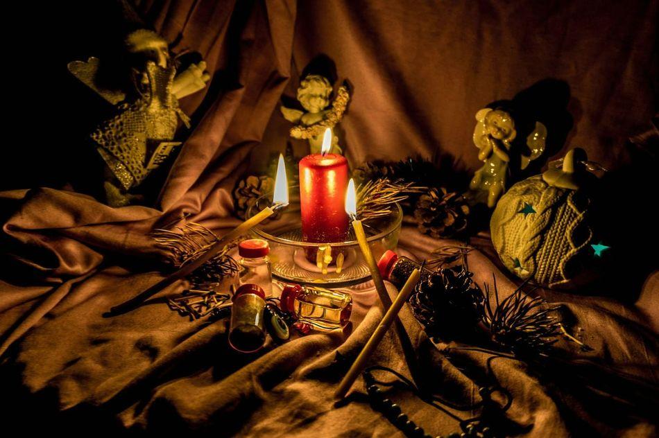 рождество гадание Christmastime Night Divination No People Girl Celebration Gold Colored Religion Spirituality Indoors  First Eyeem Photo