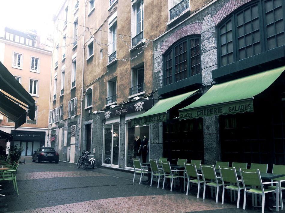 Streetphotography Grenoble Ipad