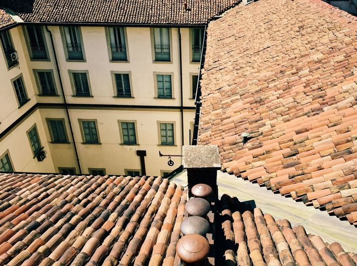 Building Exterior Architecture Stack Built Structure Large Group Of Objects Day Window No People Outdoors Tiled Roof  Milano Highline Galleria IPhoneography TheWeekOnEyeEM Roof