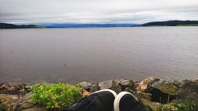 Mountain View Mountains In Background Moray Firth Inverness Scotland Dog Walks Dog Walkers Sea Water_collection Rocks And Water Rocky Beach Taking Photos EyeEm Best Shots - Landscape Feet Up And Dream Of Far Horizons Showcase July Athleisure