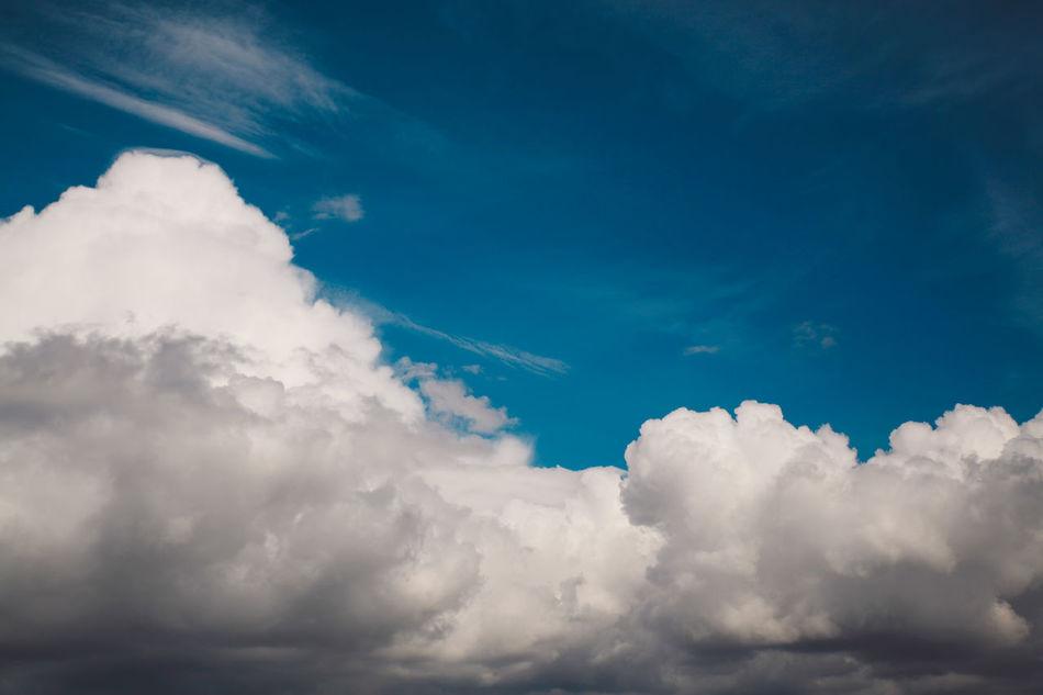 Autumn Backgrounds Blue Cloud - Sky Cloudscape Day Landscape Nature No People Outdoors Scenics Sky Travel