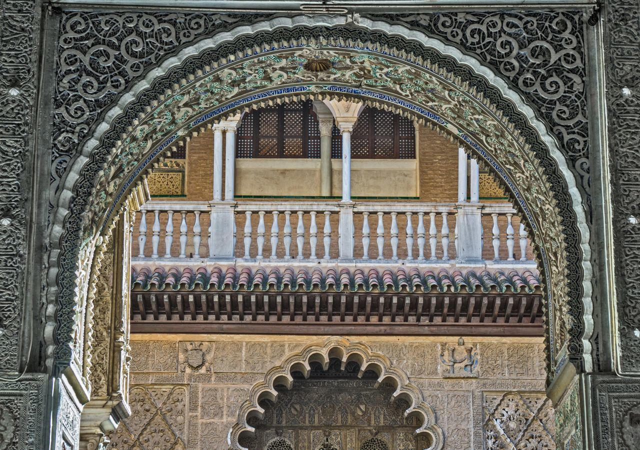 Arabic Seville Sevilla Palace Alcazar España Art Architecture Mudéjar