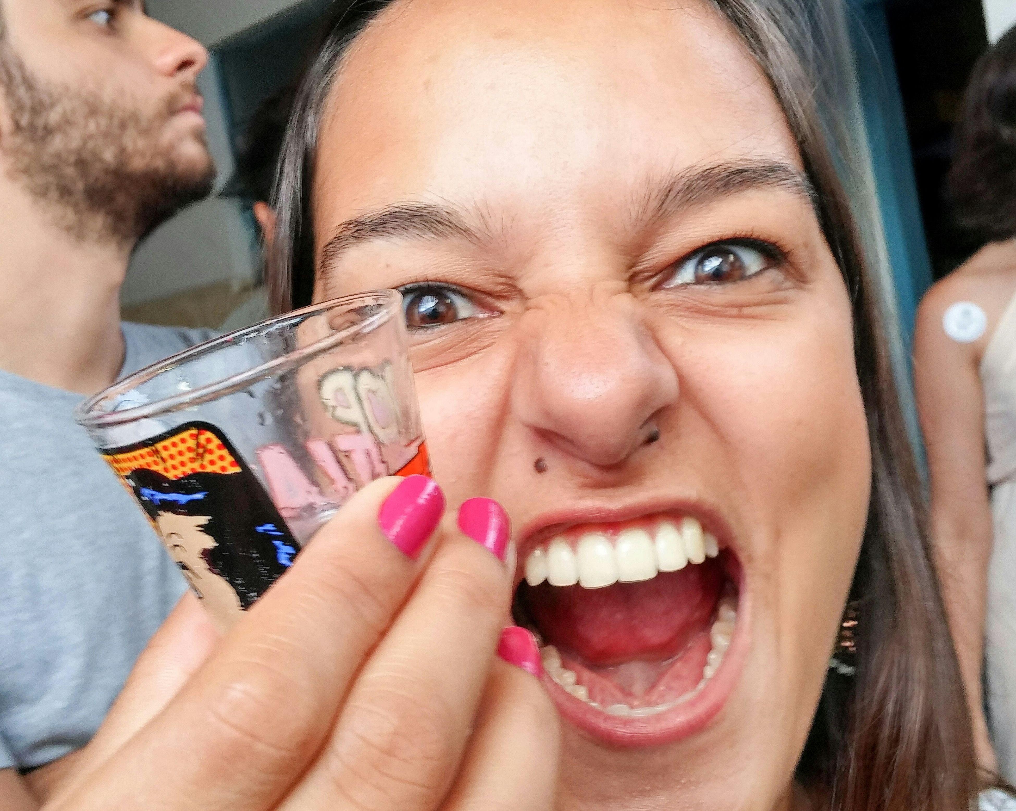 Friend Party Shot Drinking Crazy Friends Crazy Face