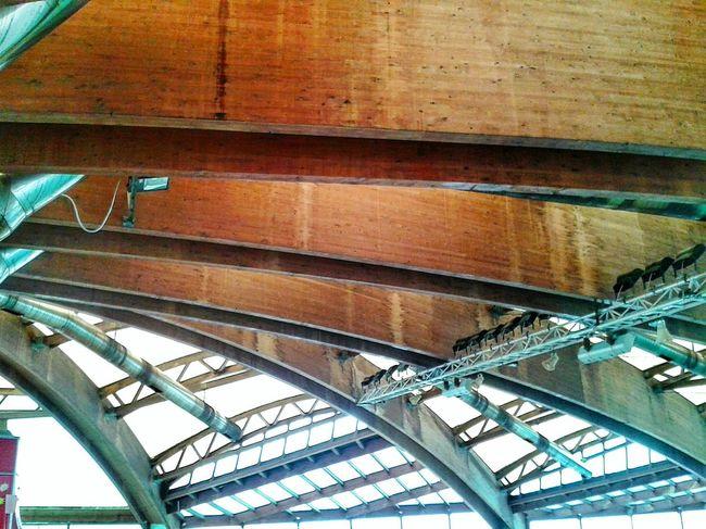 """ Metal Wood & Plexiglass Sliding Roof"". Built Structure Metallo Legno Tetti  / Piscina I Delfini di Genova-pra/ Fascia Di Rispetto / Architecture Copertura Lines & Curves Mobile Photography S3mini Camerazoomfx in HDR shooting mode: Exposure Bracketing Eyeemfilter F3"