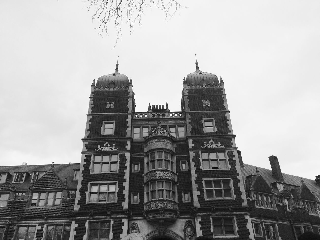 Upenn College Pennsylvania Black And White