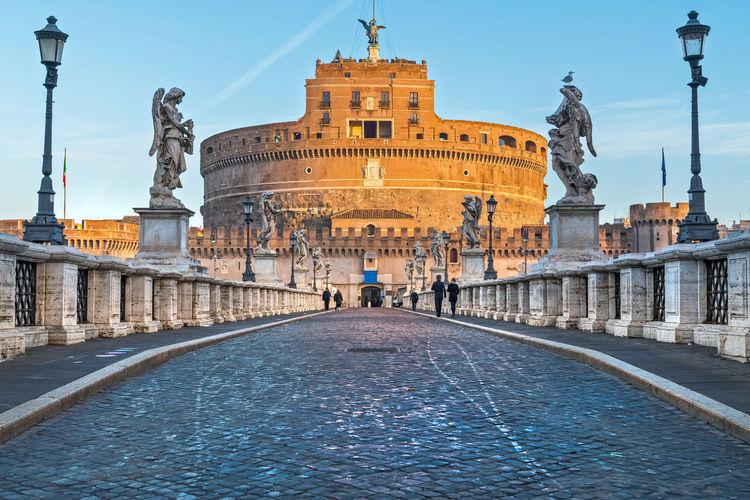 Castel Sant'Angelo, Rome, Italy Coliseum Colosseo Pantheon Roma St. Peter's Basilica Trevi Fountain Vatican Italy San Pietro Sant'angelo Tiber