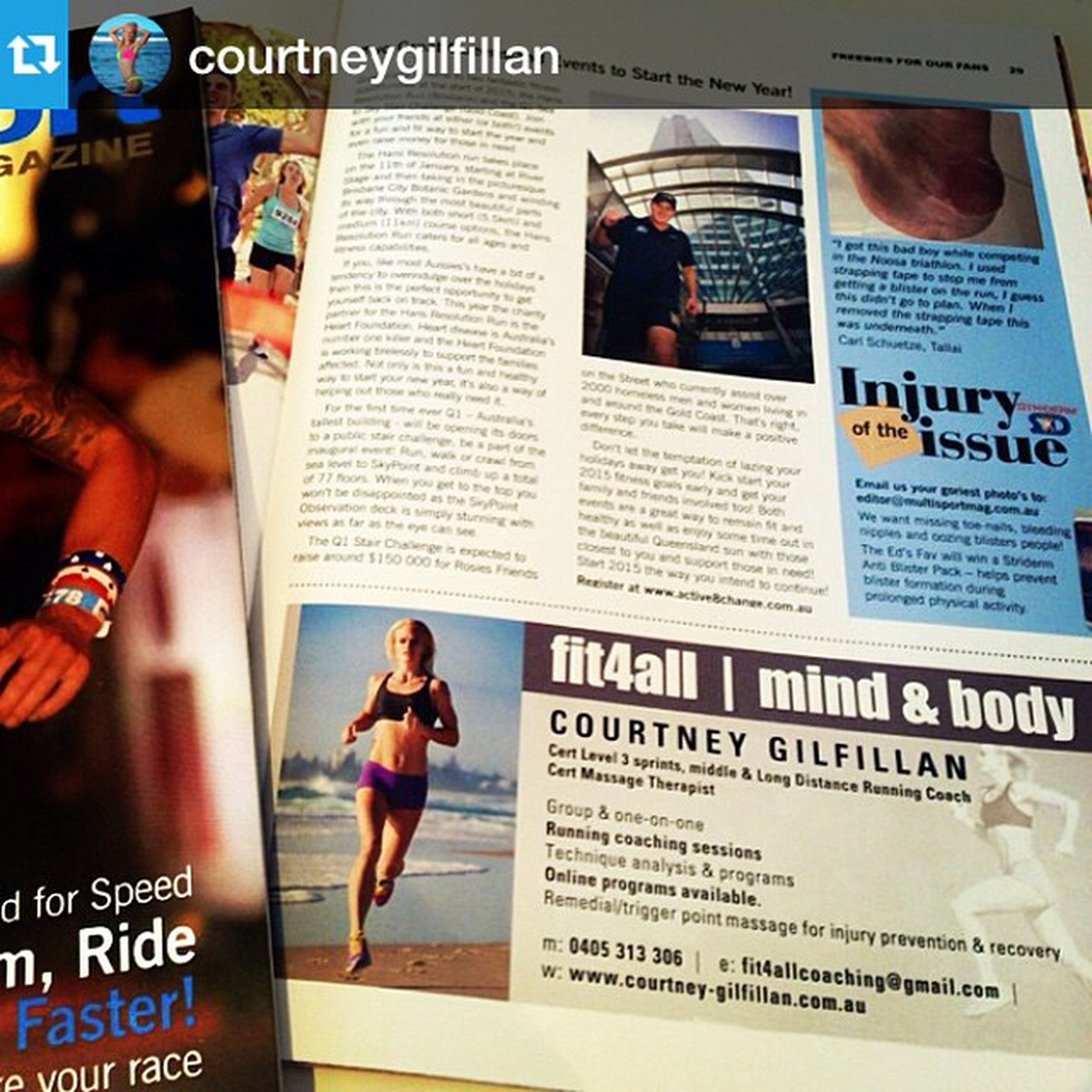 Repost @courtneygilfillan with @repostapp our pic from a 2014 shoot!