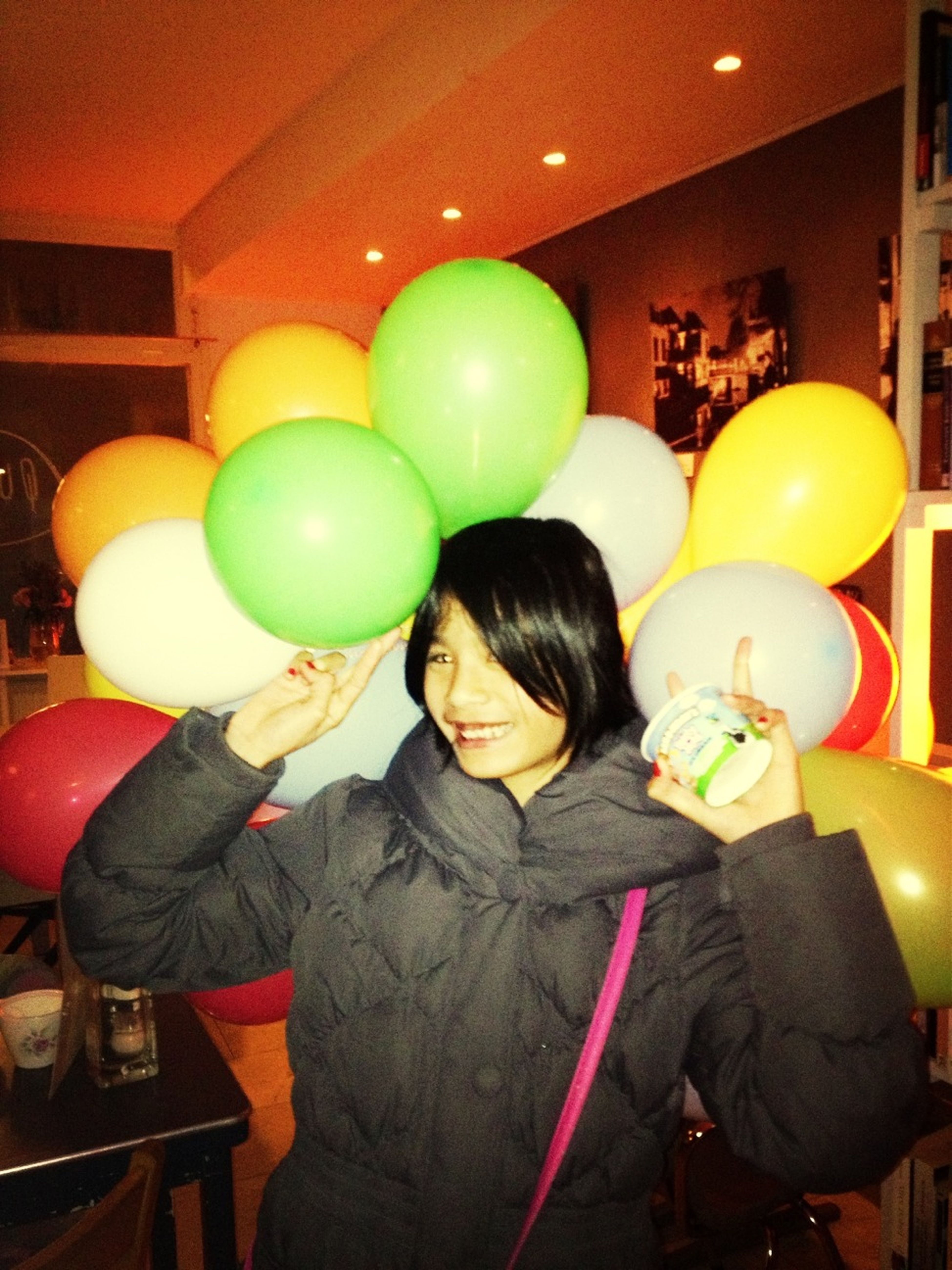 Charlie And Her Balloons
