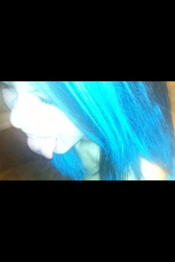 Blue Hair<3